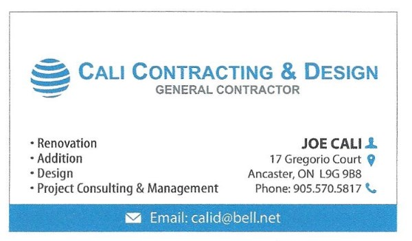 Cali Contracting & Design General Contractor