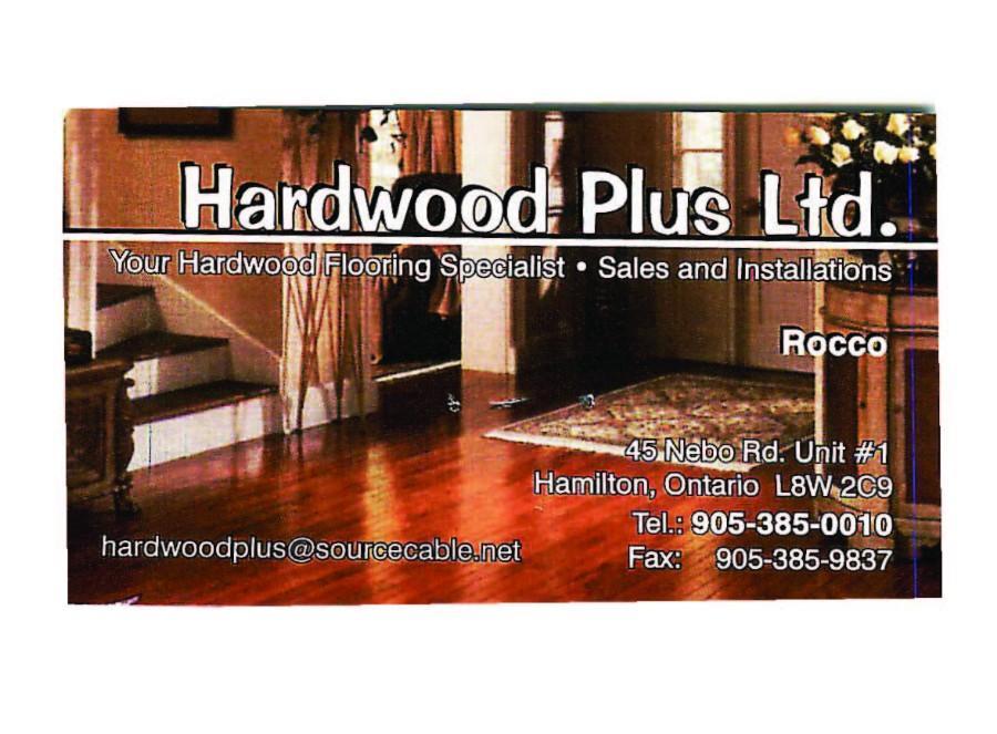 Hardwood Plus Ltd.